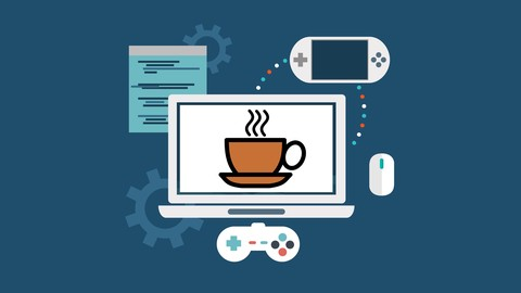 Learn Java like a Professional! Start step by step from basic to build complete games and apps with Java8