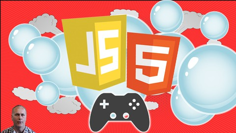 Build a JavaScript Canvas Game from Scratch Bubble Popping game HTML5 Canvas Step by step coding to create a game