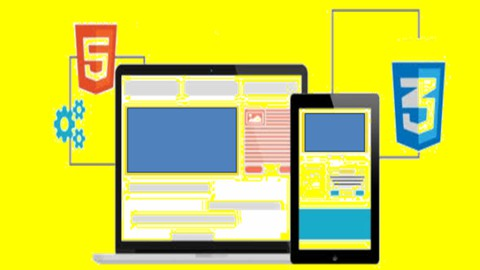 The easiest and best way to learn modern web design,HTML5 and CSS3 from scratch step by step with lots of examples