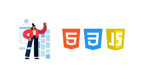 A Complete Step by Step Guide for Beginners to get started with HTML5, CSS3, & JavaScript in-depth.