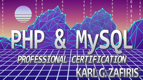 Get certified as a PHP/MySQL developer and learn about Hashing, MVC, CRUD operations and how to avoid MySQL Injection.