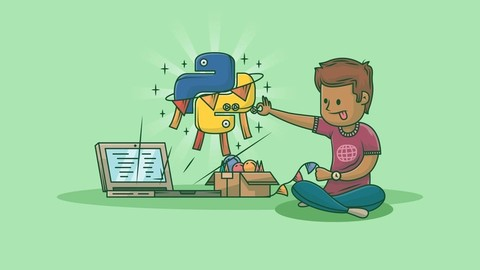 Beginner to Expert Python And Flask.Start from the basics and go all the way to creating your own applications and games