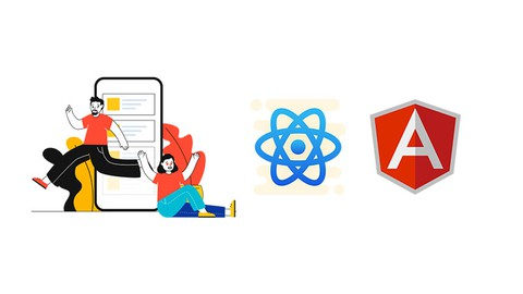 Complete Beginners guide to get started with React JS & Angular 10. Step by Step instructions with projects included